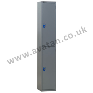 Steel Lockers-2-Door-Lockable
