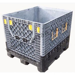 Plastic box pallet folding sides Magnum Used