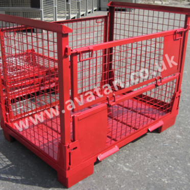 Euro 91 Collapsible Cage Pallet Mesh Gitterbox