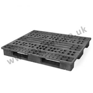 Plastic pallet moulded recycled heavy duty