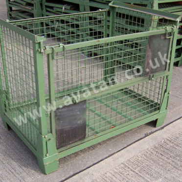 SHC91-Euro-Collapsible-Cage-Pallet Folding Stillage