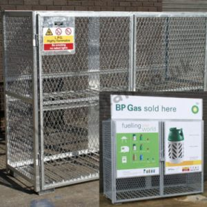 Gas Bottle Cylinder Stillage Steel Cage Pallet