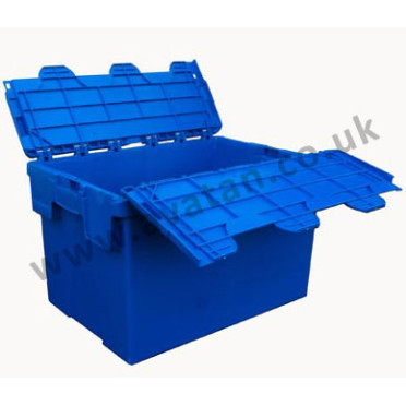 Plastic-Container-Nestable-With-Lid