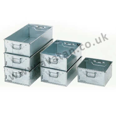 Galvanised-Tote-Pans-Range of Sizes