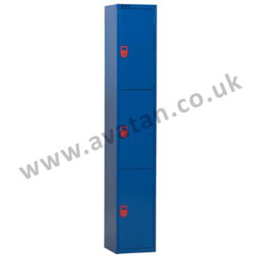 Steel Compartment-Lockers-3-Door-Lockable