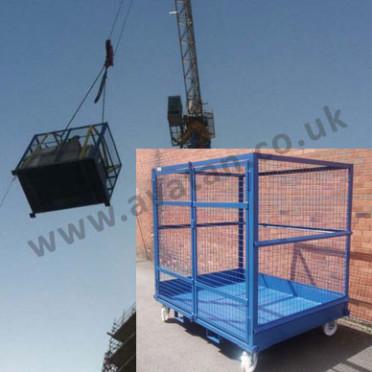 Cargo Stillage Crane Lift Lockable Mesh