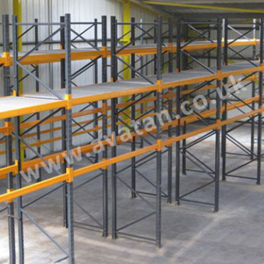 Used-Pallet-Racking Dexion Link 51 Planned Storage