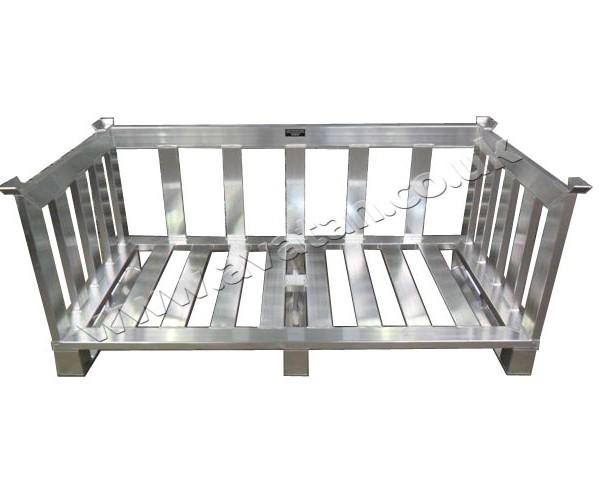 Aluminium Pallet  Stackable Food Pharmaceuticalt stackable