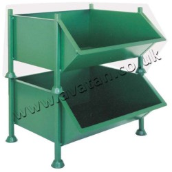Easy Access Picking Bin - Steel Stillage