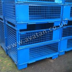 Euro Style Gitterbox Cage Pallet Sheet Base