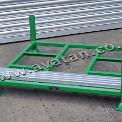 Postrack SP Zinc Plated Posts Flat