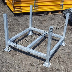 Post Pallet For Scaffolding Galvanised Finish