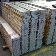 Timber pallet collars folded wood