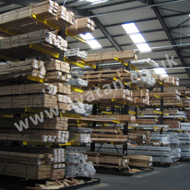 Cantilever racking adjustable heavy duty