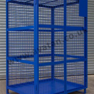 Steel Lockable Distribution Cage Pallet