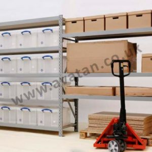 Longspan shelving adjustable heavy duty
