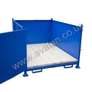 Steel Box Pallet Heavy Duty Stillage Recycling