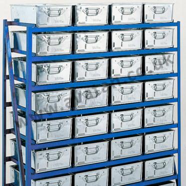 Tote Pan Storage Rack Range Static or Mobile