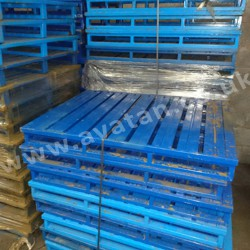 Steel Pallet Strong metal pallet good condition
