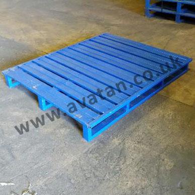 SHS110 Used Flat steel pallet wm