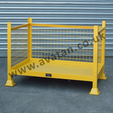OF Steel Cage Pallet Open Front
