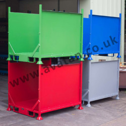 Stackable Open Front Box Pallet Heavy Duty Stillage